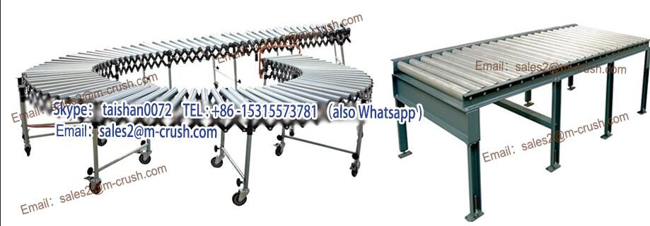 high-performance aluminum gravity roller conveyor