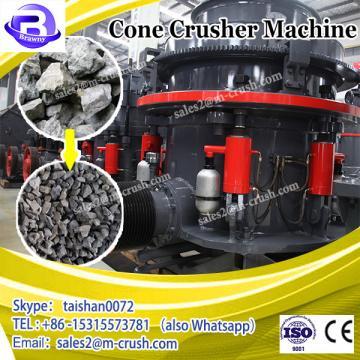 Cone stone crusher rock breaking machine price in india
