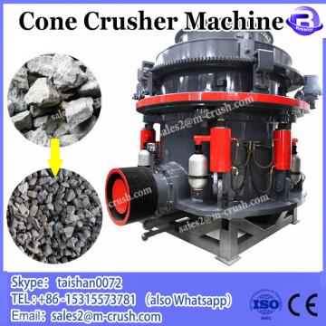 High capacity gravel cone crusher machinery