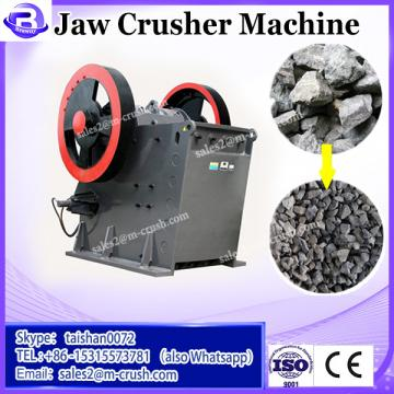 Stone jaw crusher machine to make aggregate for highway