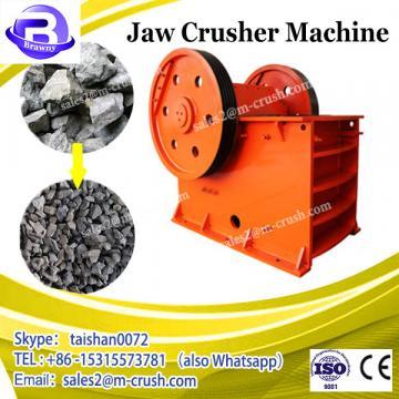 ISO Certificate Small Jaw Crusher Equipment Crushing Machine