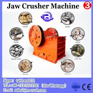 Energy Saving Gravel Jaw Crusher / Glass Crusher Machine For Sale