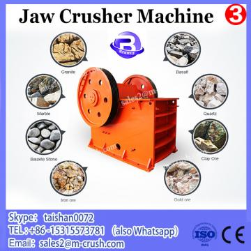 Mining machine manufacturer jaw crusher price with 18-56 tons per hour handle ability and 30kw AC motor