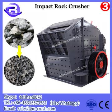 Different types rock-on-rock and rock-on-iron rotor centrifugal crushers