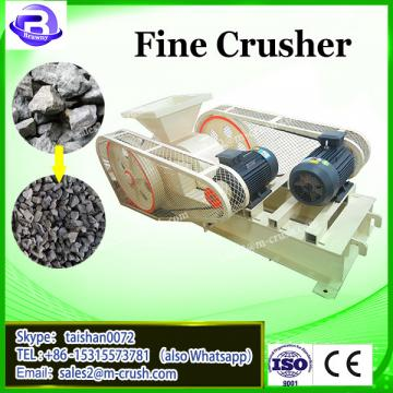 HSM CE double roll crusher for coke clinker ceramic