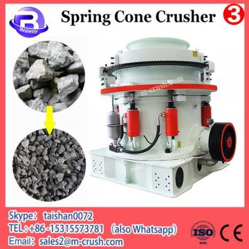 High Efficient competive price discharge smooth spring stone crusher