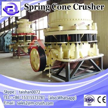 Mobile Construction Waste Spring Cone Crusher with High Efficiency