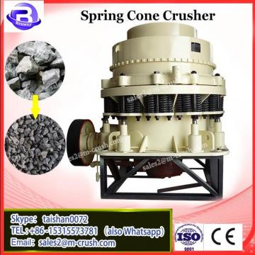 2017 High efficient low price Spring cone crusher for sale hard rocks crushing plant
