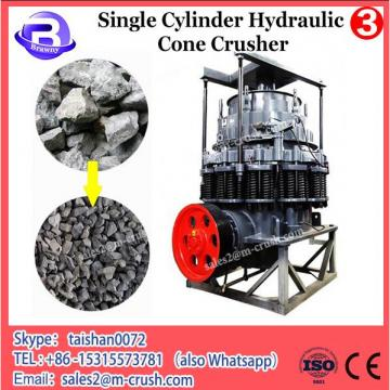 Hydraulic locking model 420 road single cylinder cone crusher machine