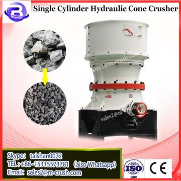 Chinese Leading High Efficient single cylinder hydraulic cone crusher for granulated slag Manufacturer