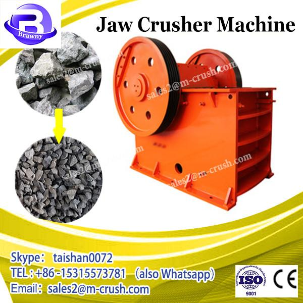 Recycling station use glass bottle crusher / jaw crusher machine for glass crushing #2 image